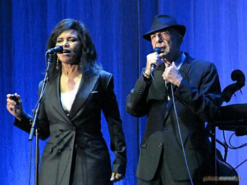 Sharon Robinson, Leonard Cohen