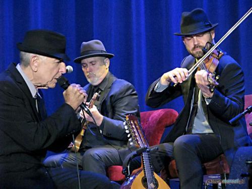 Leonard Cohen, Mitch Watkins, Aleksandru Bublitchi